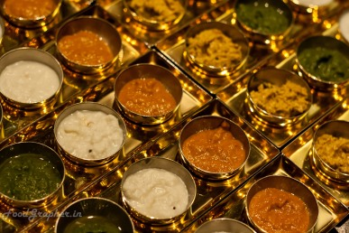 Assortment of Chutneys