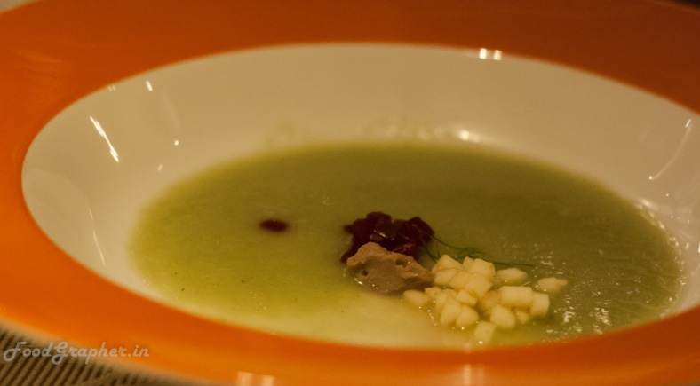 Californian Apple and fresh Fennel soup